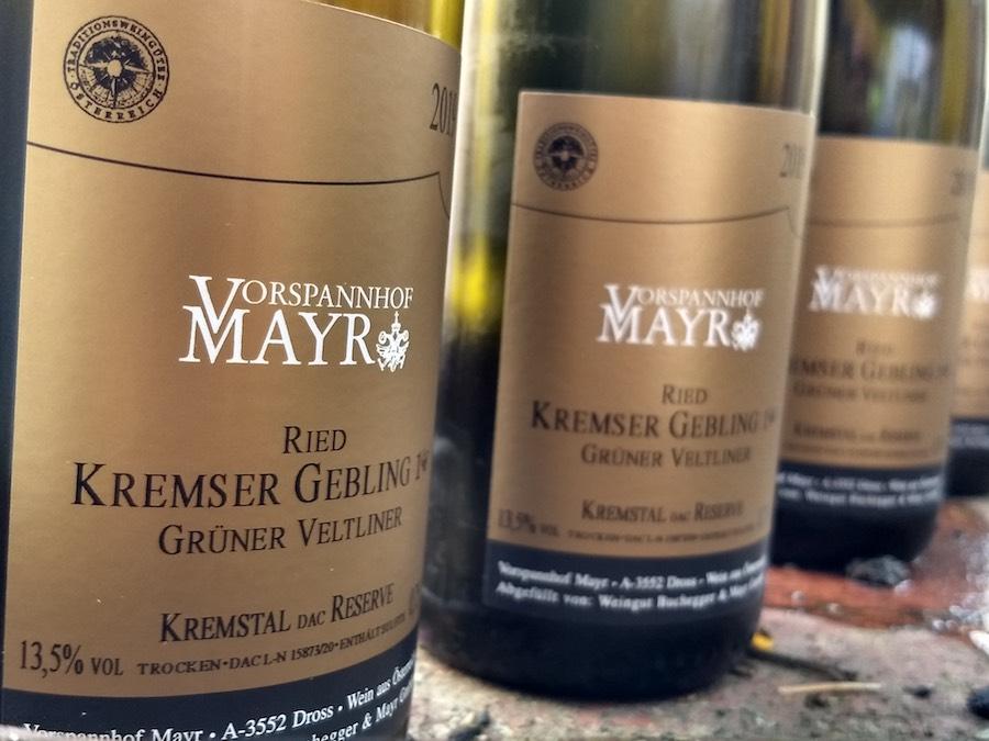 Vorspannhof Mayr ist jetzt ein Traditionsweingut